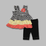 Small Wonders Infant Girl's Dress & Leggings - Striped at Kmart.com