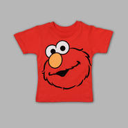Sesame Street Infant & Toddler Big Face Elmo T-shirt at Kmart.com