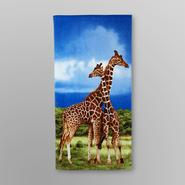 Essential Home Wildlife Beach Towel - Giraffe at Kmart.com