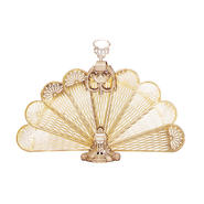 UniFlame Polished Brass Ornate Fan Screen, Medium at Kmart.com