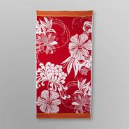 Essential Home Jacquard Beach Towel - Floral at Kmart.com
