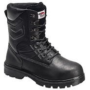 Avenger Safety Footwear Men's Steel Toe Electrical Hazard Internal Metatarsal Guard Boot Black at Sears.com