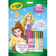 Crayola Disney Princess Coloring and Activity Pad With Markers at Kmart.com