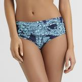 Jaclyn Smith Women's Shirred Bikini Bottoms - Paisley at mygofer.com