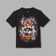 WWE Boy's T-shirt Graphic WWE Explosion Royal Short Sleeve – Black at Sears.com
