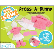 "Colorbok Learn To Sew Dress A Bunny Kit 8""X11 3/4"" at Kmart.com"