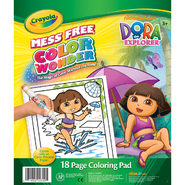 Crayola Color Wonder Coloring Pad-Dora The Explorer at Kmart.com