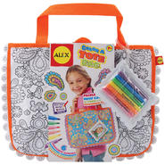 Alex Toys Color A Tote Bag Kit Paisley Flower at Kmart.com