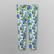Metaphor Women's Denim Capris - Floral Print at Kmart.com