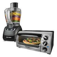 Black & Decker 8-cup Food Processor & 4-slice Toaster Oven Bundle at Kmart.com