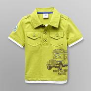 Route 66 Infant Boy's Graphic Polo Shirt at Kmart.com