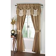 Cannon 5-Piece Curtain Panels, Valance & Tiebacks - Bellany at Kmart.com
