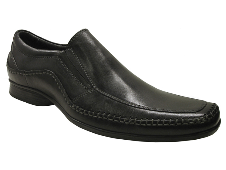 Mens Dress Doug Black Slip On