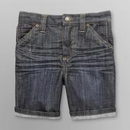 Route 66 Infant & Toddler Boy's Cuffed Denim Shorts at Kmart.com