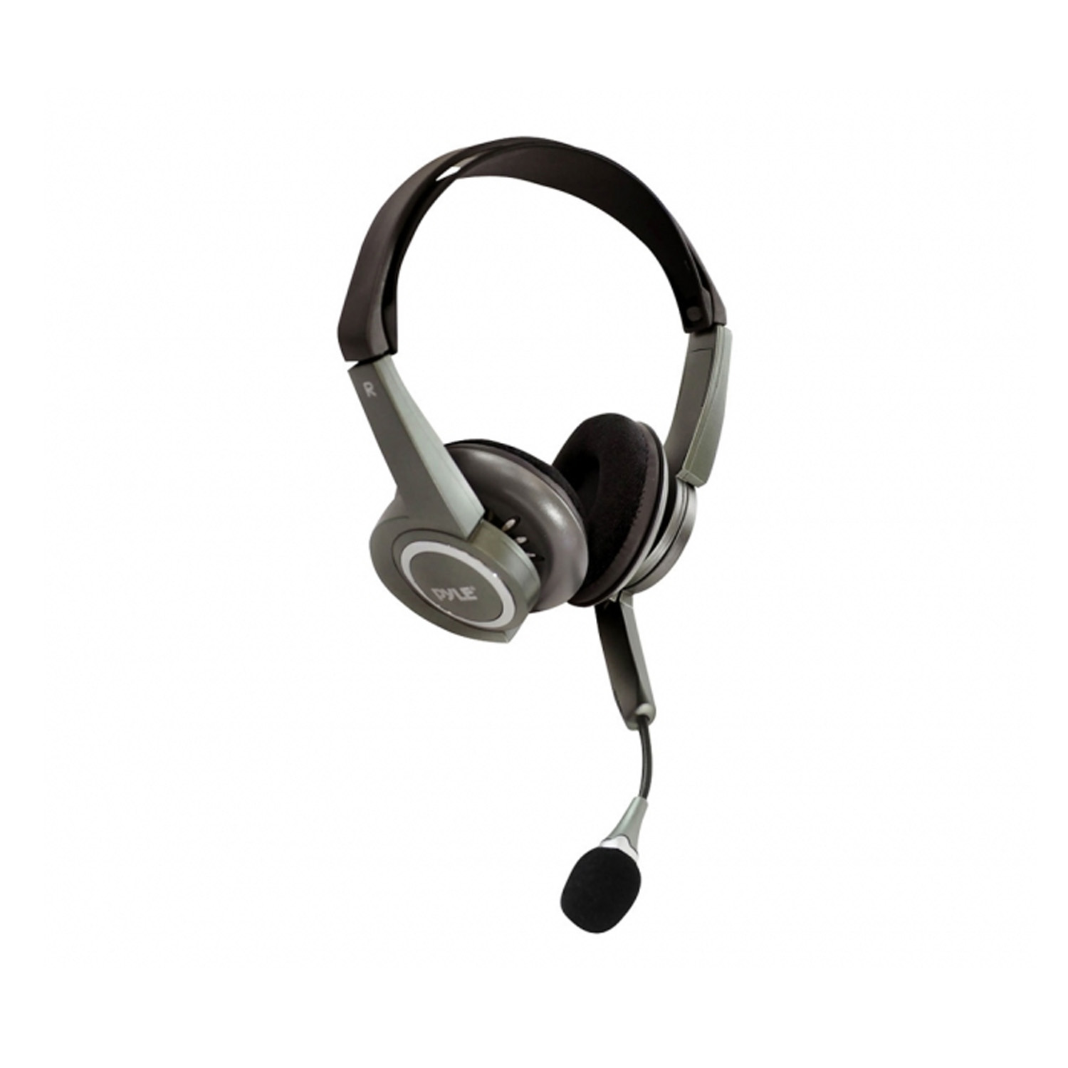 Pyle Extreme Bass Stereo PC Multimedia Headset/Microphone With Volume Control