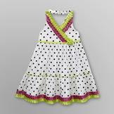 WonderKids Infant & Toddler Girl's Ribbon Dress - Polka Dot at mygofer.com