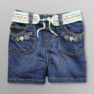 Route 66 Infant  Embroidered Jean Shorts at Kmart.com