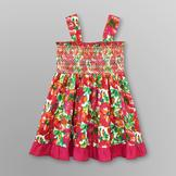 WonderKids Infant & Toddler Girl's Smocked Sundress - Floral at mygofer.com