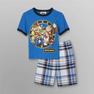 Nintendo Super Mario Boy's T-Shirt & Shorts at Kmart.com