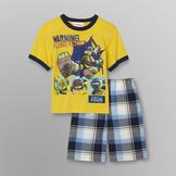 Nickelodeon Teenage Mutant Ninja Turtles Boy's T-Shirt & Shorts at mygofer.com