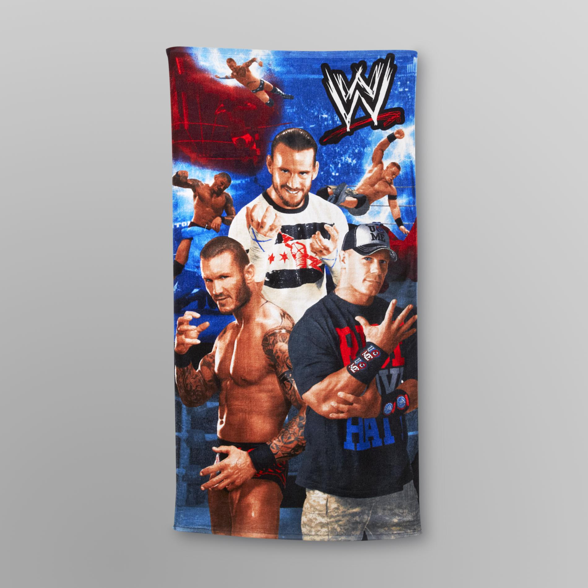 WWE Superstars Beach Towel