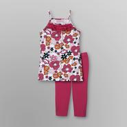 SWAK Girl's Tank Dress & Leggings - Flowers at Sears.com