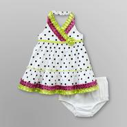 Small Wonders Infant Girl's Ribbon Halter Dress - Polka Dot at Kmart.com