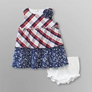 Small Wonders Infant Girl's Dress - Americana at Kmart.com