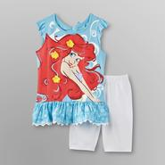 Disney Baby Princess Toddler Girl's Tunic & Shorts - Ariel at Kmart.com