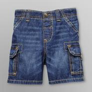 Route 66 Infant Boy's Denim Cargo Shorts at Kmart.com