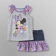 Disney Baby Minnie Mouse Toddler Girl's Shirt