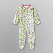 Small Wonders Infant Girl's Sleeper Pajamas - Frog & Heart at Kmart.com