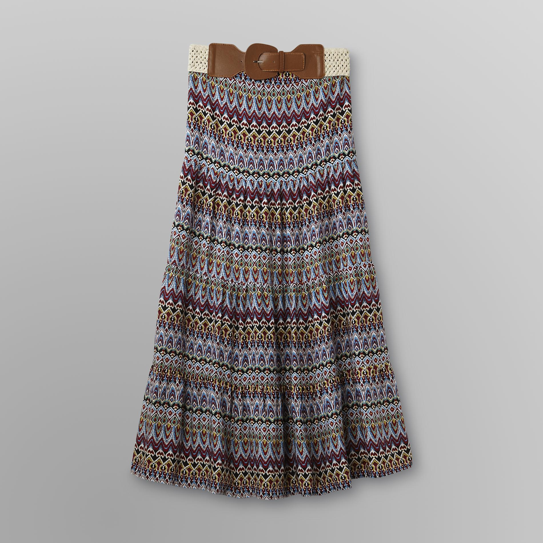 Bongo Junior's Maxi Skirt & Belt - Tribal at Sears.com