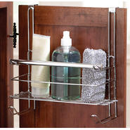 Essential Home Single Rod Over The Door Organizer with Rod Hook & Shelf at Kmart.com