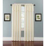 Essential Home Sadie 40x84 Ivory Panel With Valance at Kmart.com