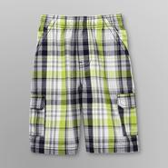 Toughskins Boy's Cargo Shorts - Plaid at Sears.com