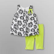 Small Wonders Infant Girl's Dress & Leggings - Floral at Kmart.com