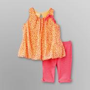 Small Wonders Infant Girl's Dress & Leggings - Leopard Print at Kmart.com