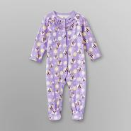 Small Wonders Infant Girl's Sleeper Pajamas - Bee & Flower at Kmart.com