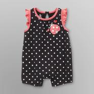 Small Wonders Infant Girl's Knit Romper - Ladybug at Kmart.com
