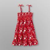 WonderKids Infant & Toddler Girl's Smocked Sundress - Stars at mygofer.com