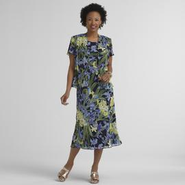 Studio 1 Women's Chiffon Dress & Jacket at Kmart.com