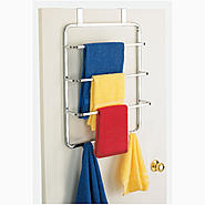 Essential Home EH OVER THE DOOR TOWEL RACK 4385 CHR/D at Kmart.com