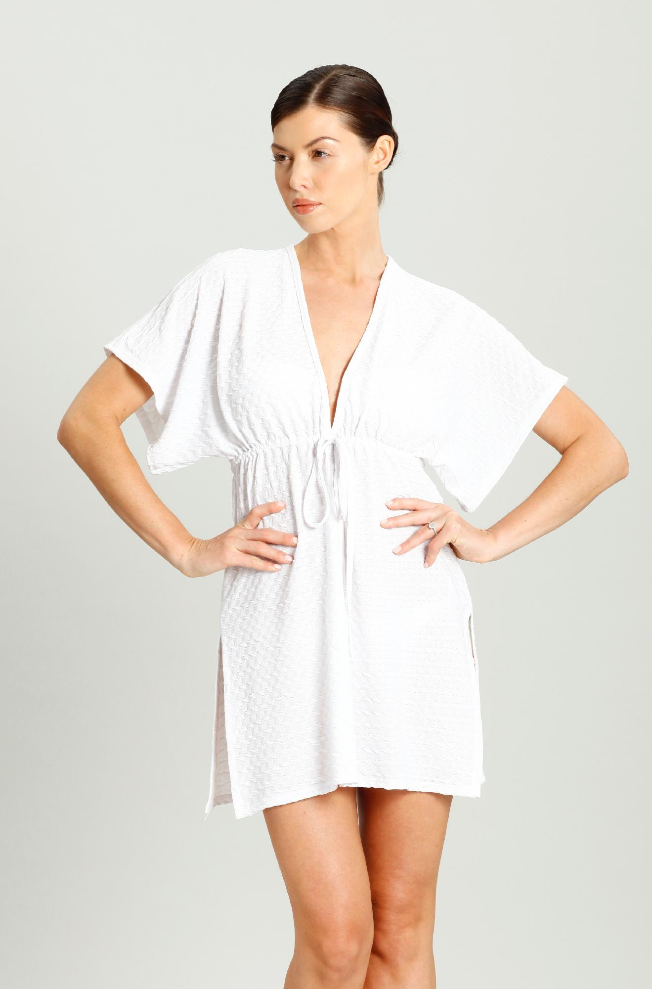 Jordan Taylor® Women's Plus V-neck Tunic Swim Cover-Up- Online Exclusive at Kmart.com