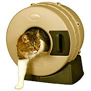 Litter Spinner Easy clean Cat litter Box at Kmart.com