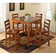 Jaclyn Smith 5 Pc Faux Marble Dining Set at Kmart.com