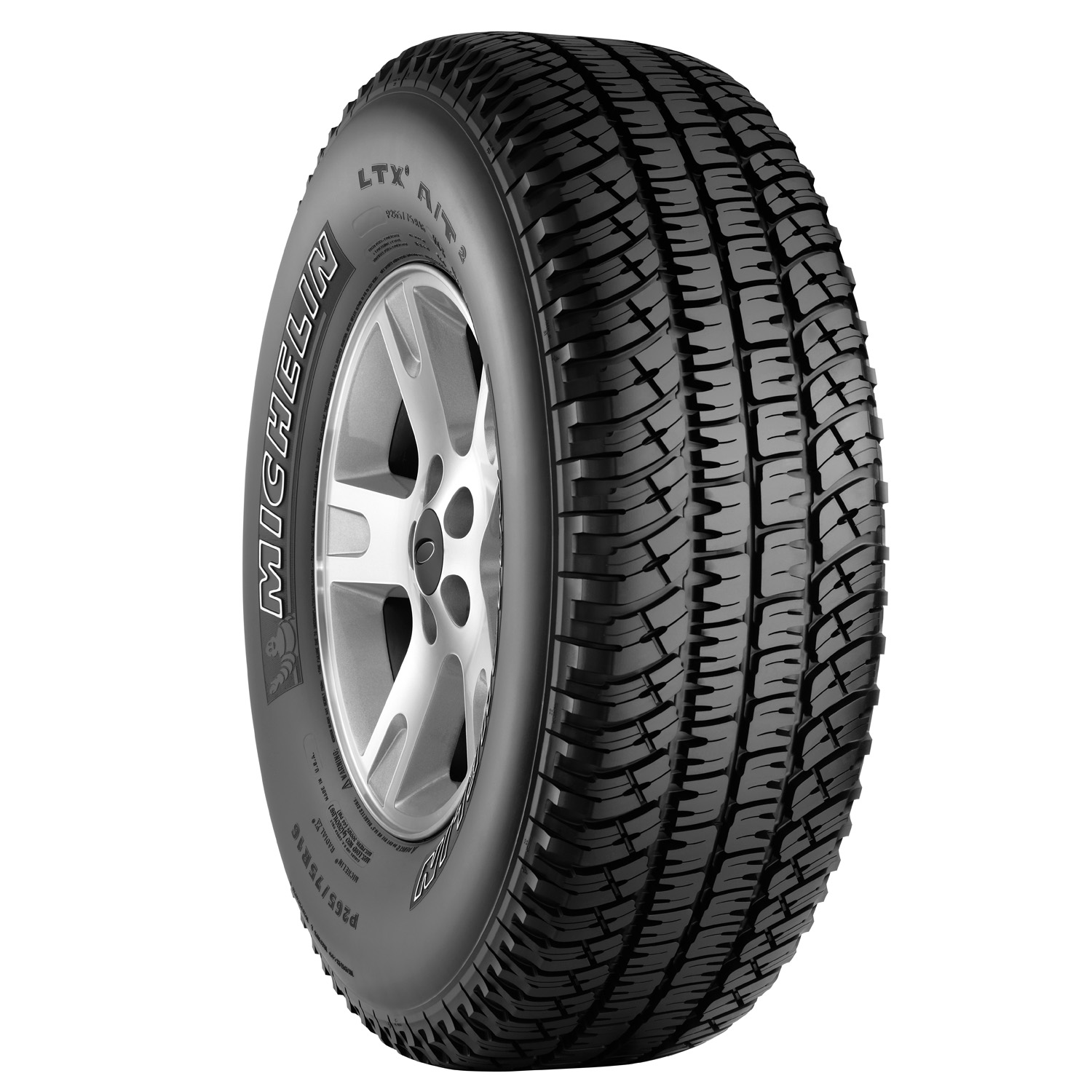 Michelin LTX A/T 2 - LT265/70R17E 121/118 R OWL - All Season Tire 265-70-17