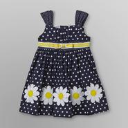 Blueberi Boulevard Infant & Toddler Girl's Cotton Dress - Polka Dot at Sears.com