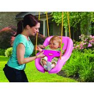 Little Tikes 2-in-1 Snug n Secure Swing- Pink at Kmart.com
