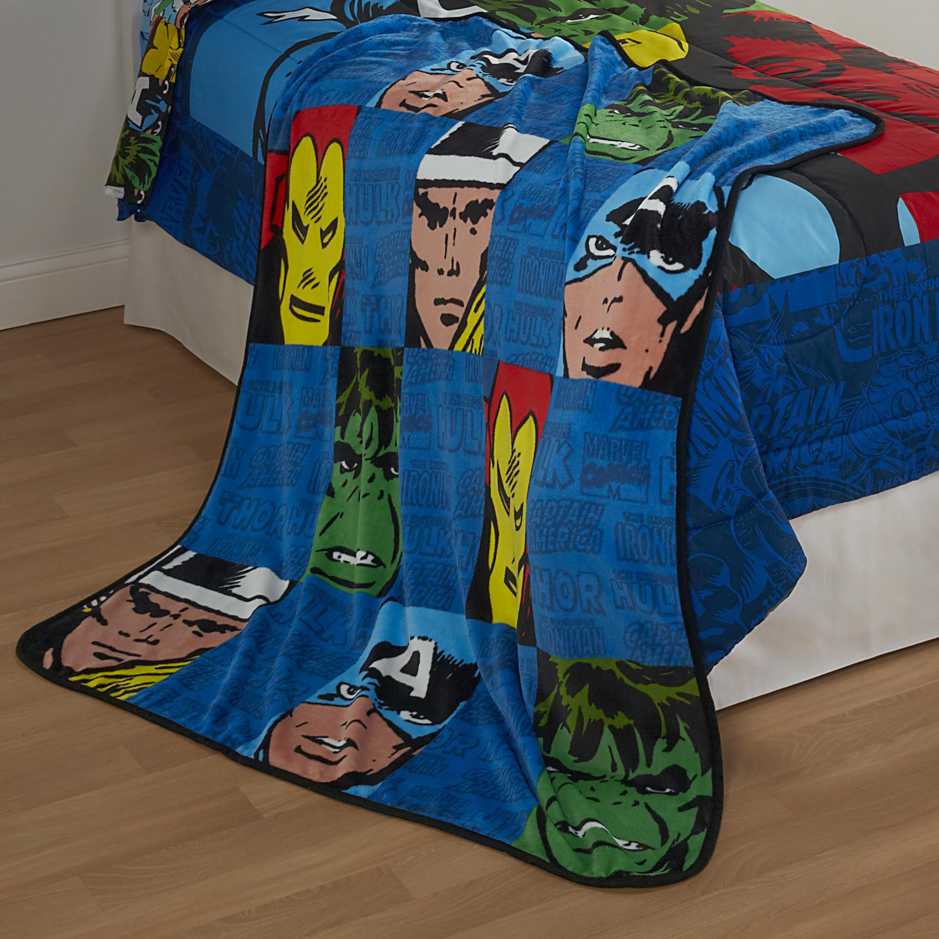Boys' Avengers Fleece Throw Blanket